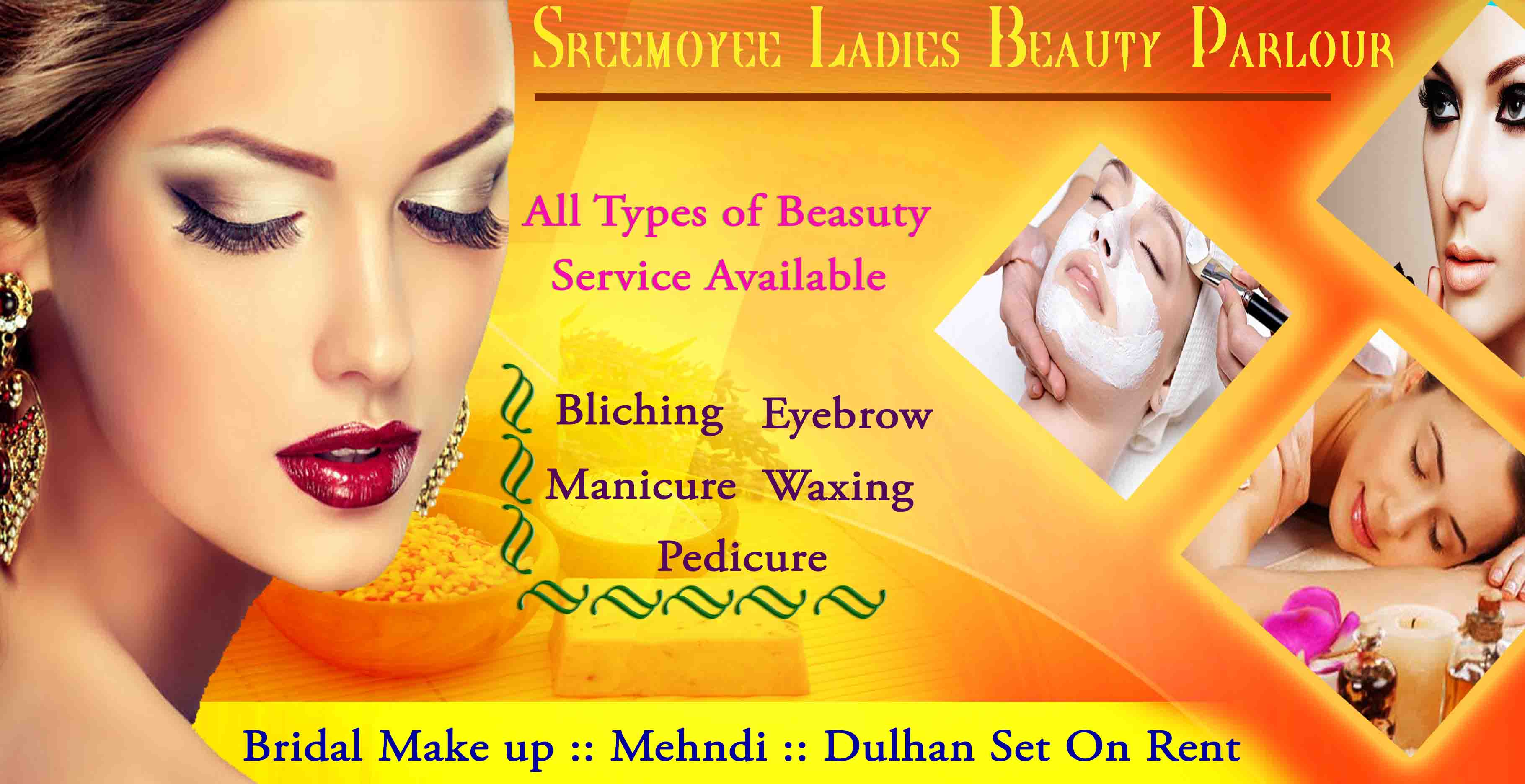 Beauty Parlour Banner Design Picture Density
