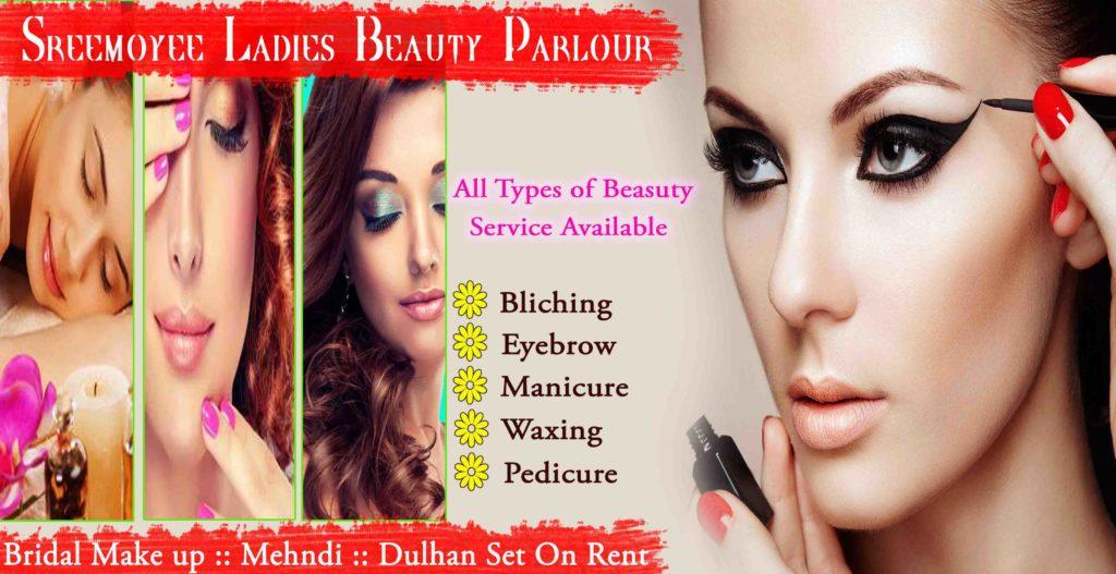 Ladies Beauty Salon Banner Design Picture Density