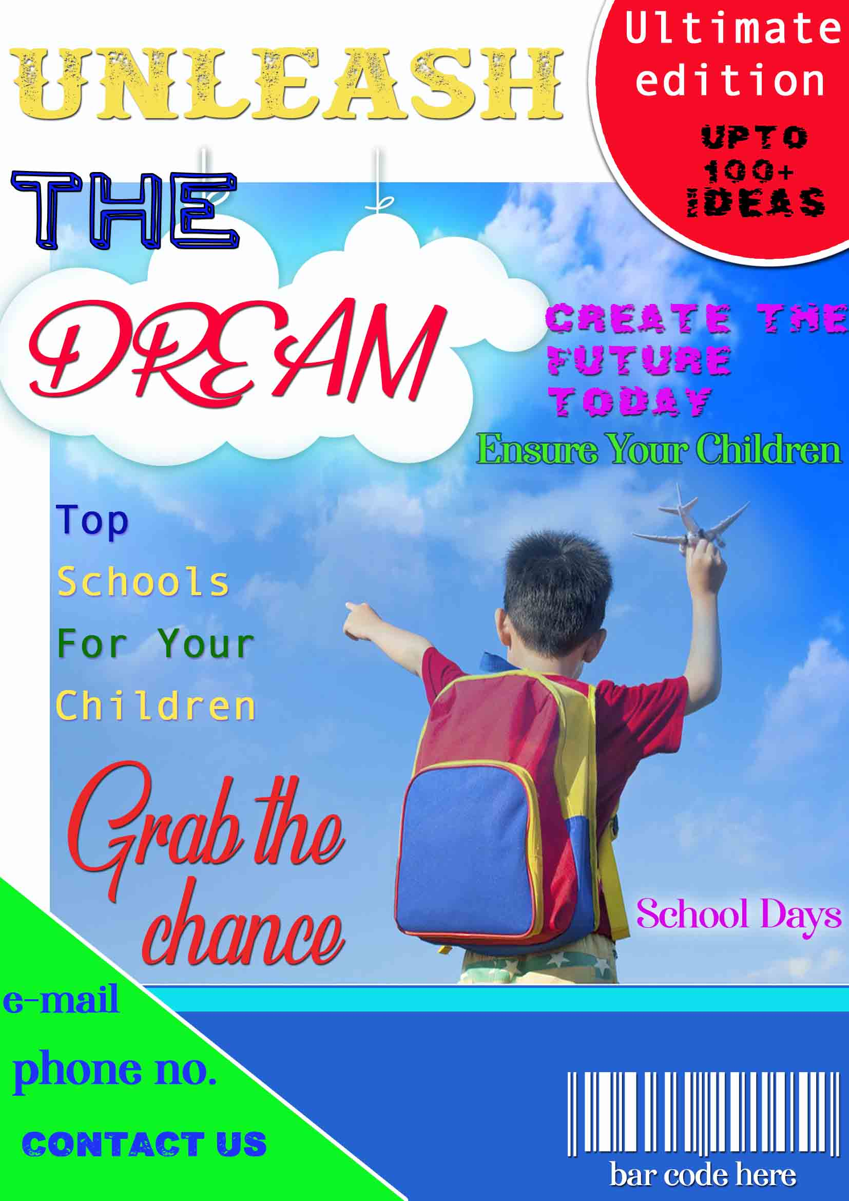 Basic Magazine Cover Page