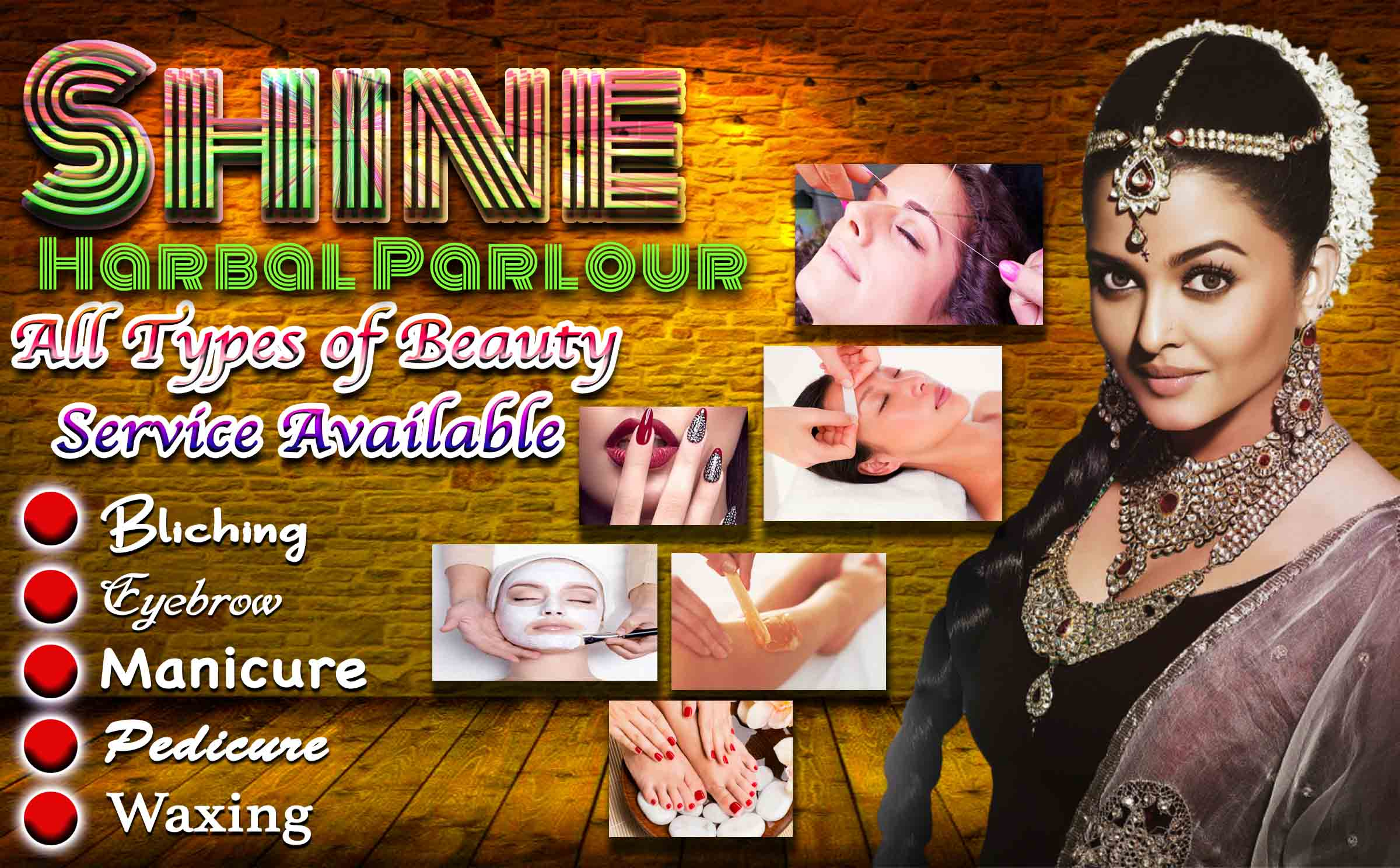 Ladies Beauty Parlour Psd Banner Design Picture Density